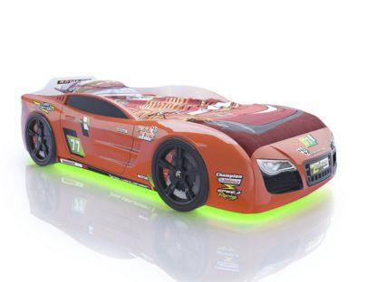 Кровать-машина Romack Renner 2 - цвет оранжевый