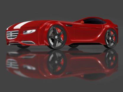 Кровать-машина Romack Junior красная