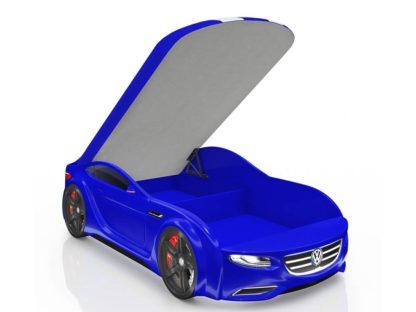 Кровать-машина Romack Junior синяя