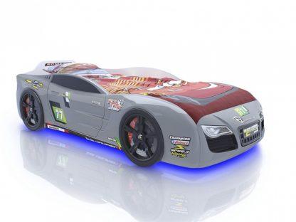 Кровать-машина Romack Renner 2 - цвет серый