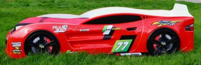 Кровать-машина Romack Renner 2 - цвет красный