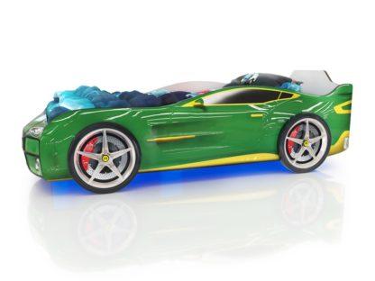 Кровать-машина Romack Kiddy - цвет зеленый