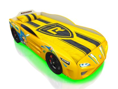 Кровать-машина Romack Dreamer жёлтый ёж