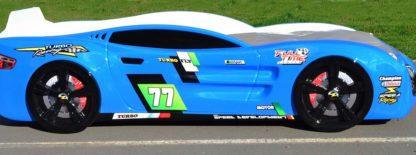 Кровать-машина Romack Renner 2 - цвет голубой
