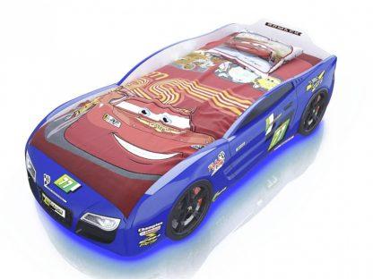 Кровать-машина Romack Renner 2 - цвет синий